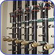 geothermal purge ports